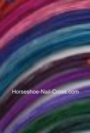 Copper Wire Color choices for Nail Crosses